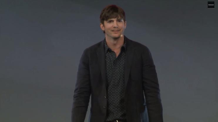 Ashton Kutcher Product Newbie