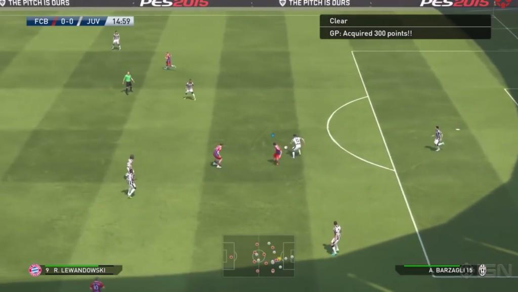 UX - Pro Evolution Soccer2015