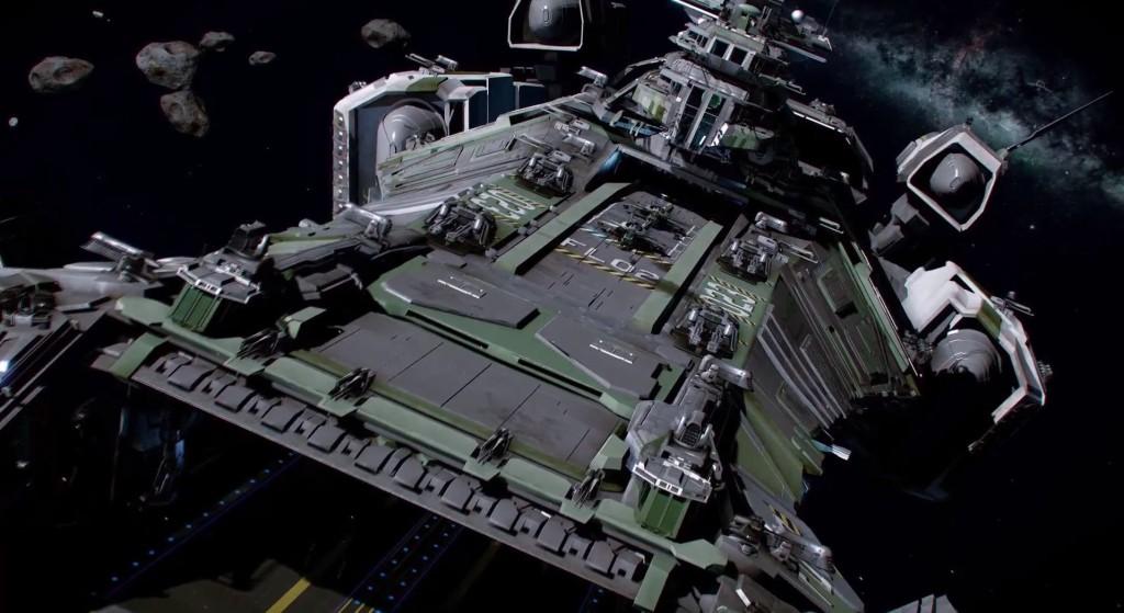 UX - Star Citizens Bengal Carrier