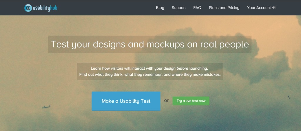 Usability Hub Product Newbie